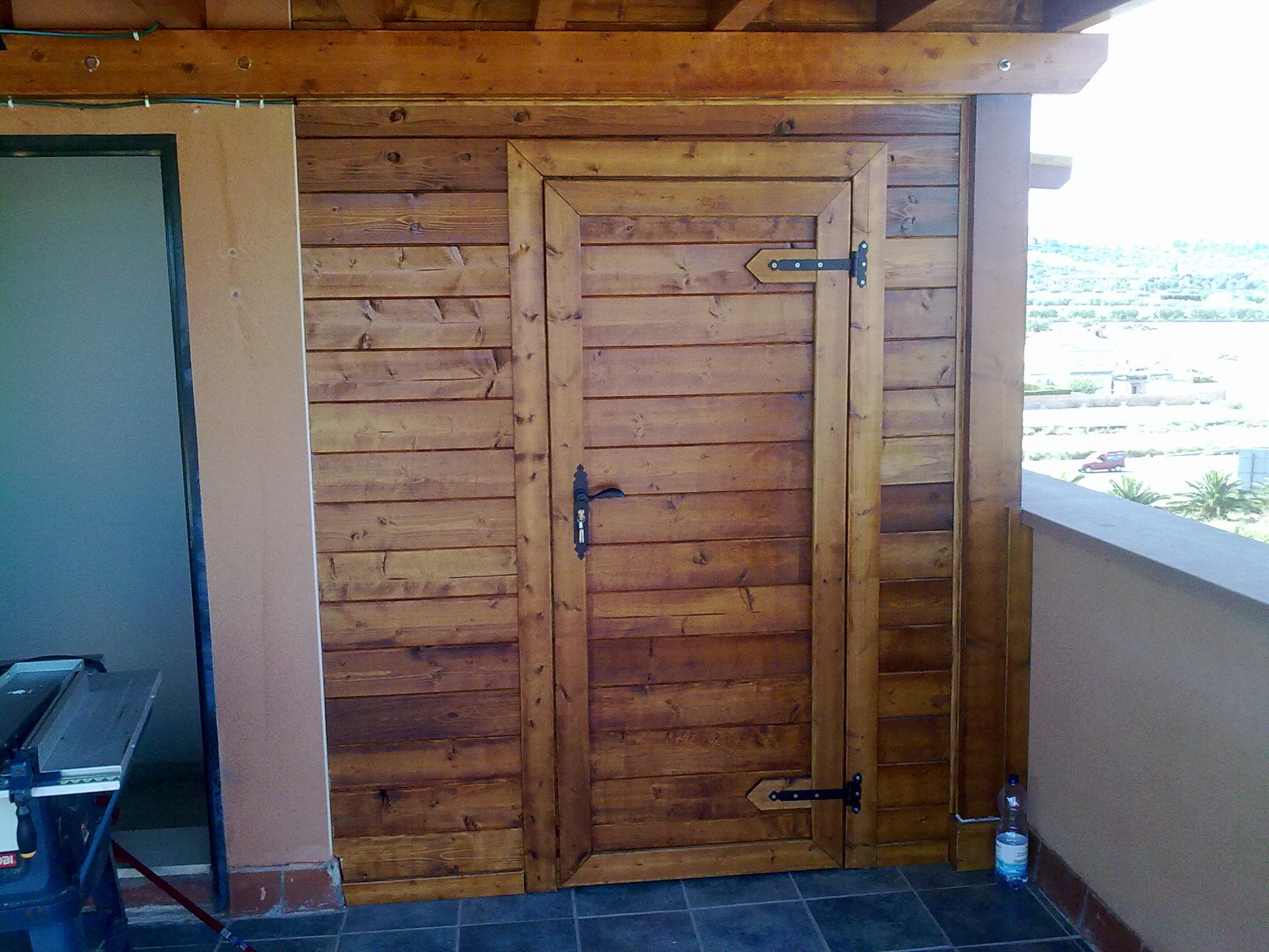 Construcci n de casetas y p rgolas de madera reformas calle - Construccion de pergolas de madera ...